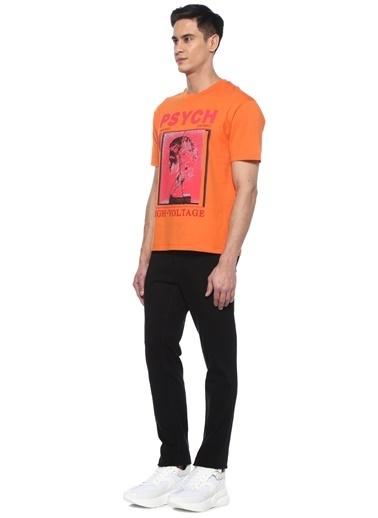 McQ Alexander McQueen Tişört Oranj